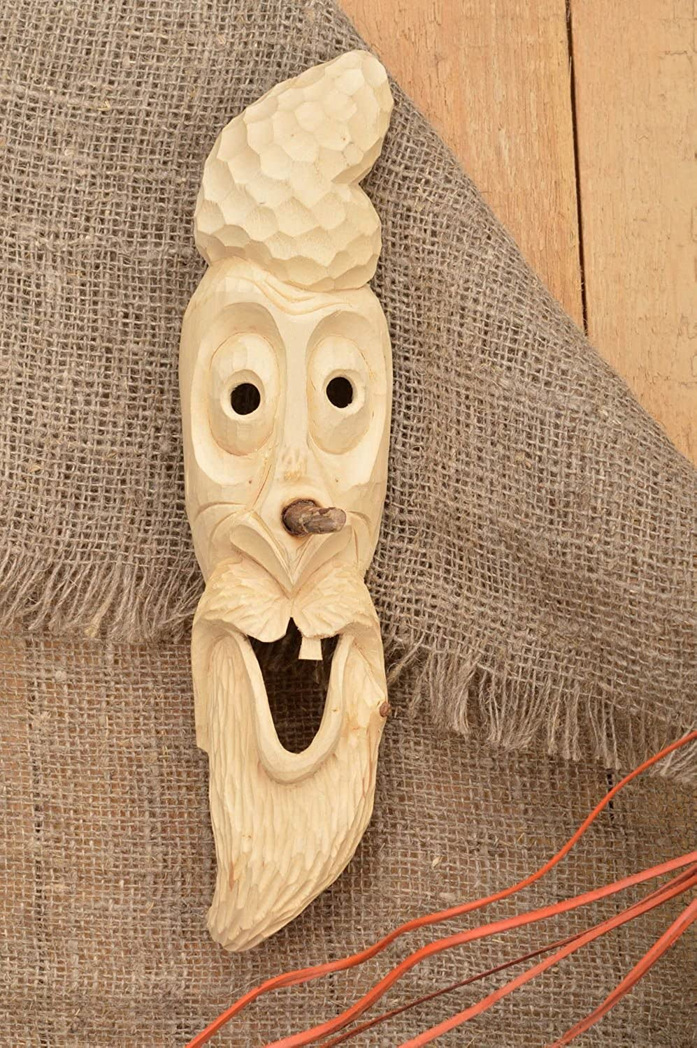 Handmade Decoration Souvenir mask Wooden Gifts for Decorative use only