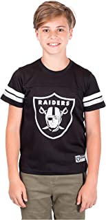 Ultra Game Boys' NFL Mesh Vintage Jersey Tee Shirt