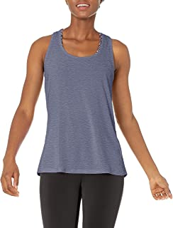 Amazon Essentials Studio playera sin mangas con espalda cruzada ligera camisa para Mujer