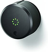 August Smart Lock Pro, 3rd generation - Dark Gray, Works with Alexa