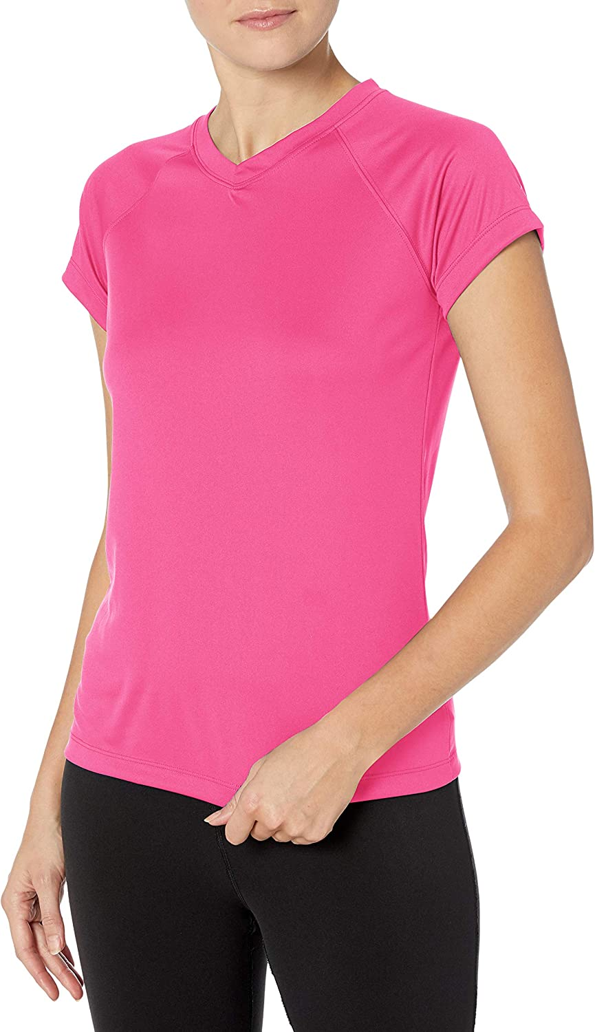 Champion Women's Latest item Short specialty shop Sleeve Double T-Shirt Dry Performance