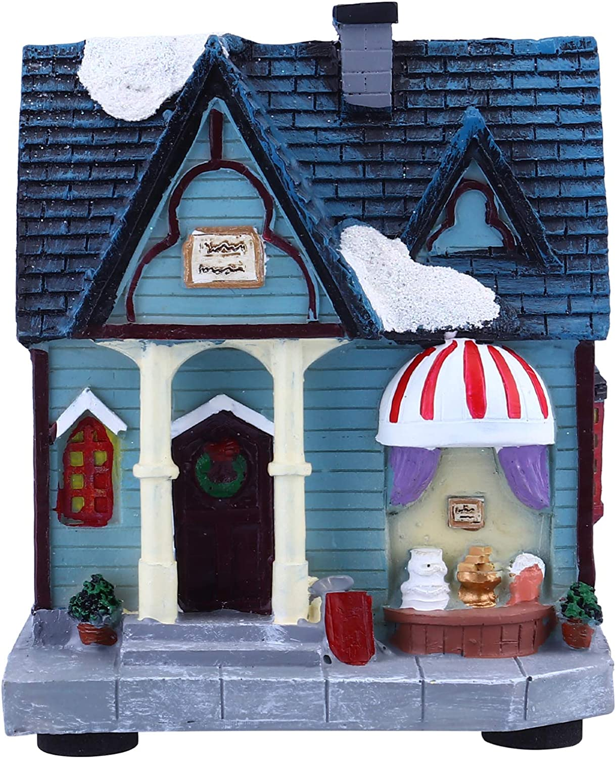 TomaiBaby Resin Christmas Discount is also underway Houses Lighted Max 49% OFF House Village
