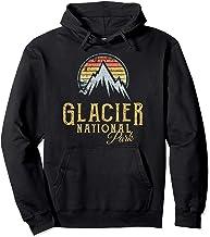 Vintage Glacier National Park Summit Hoodie