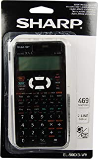 Sharp EL506XBWH calcolatrice