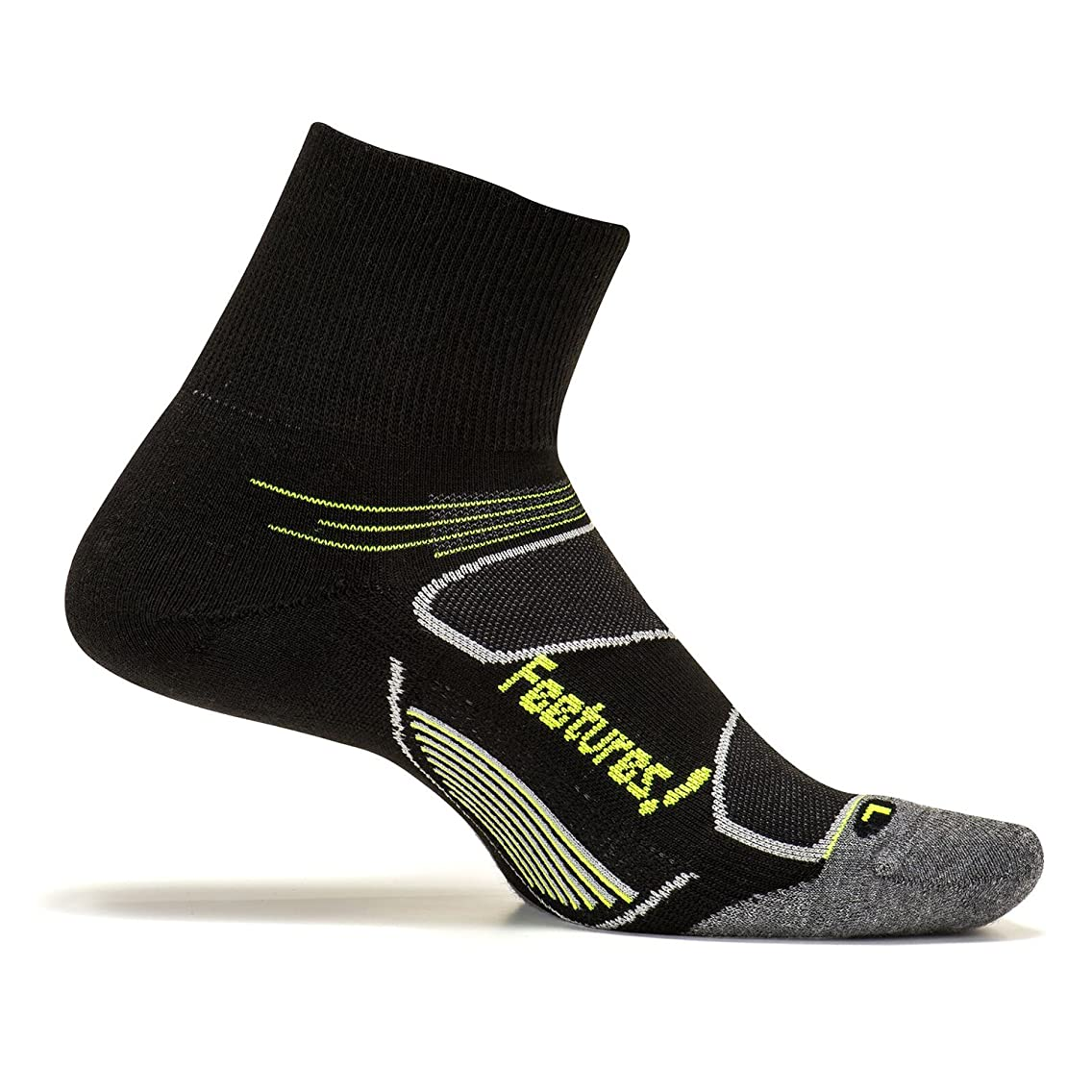 Feetures Men's Elite Max Cushion Quarter