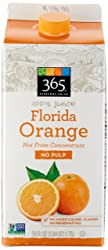 365 Everyday Value, 100% Florida Orange Juice Not From Concentrate, No Pulp, 59 fl oz