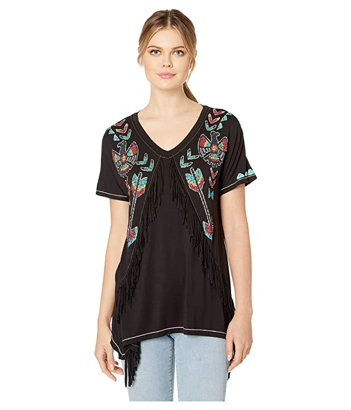 Double D Ranchwear Spacebirds Top