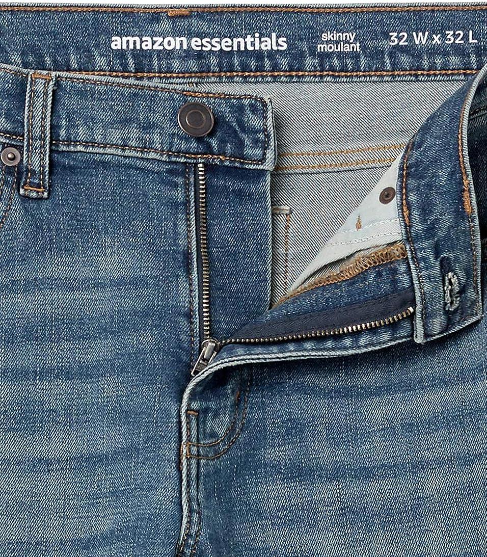 Essentials Mens Skinny-fit Stretch Jean