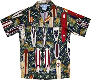 RJC Boy's Surfboard Galore Hawaiian Shirt