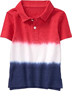 Gymboree Boys' Dip Dye Polo Tee