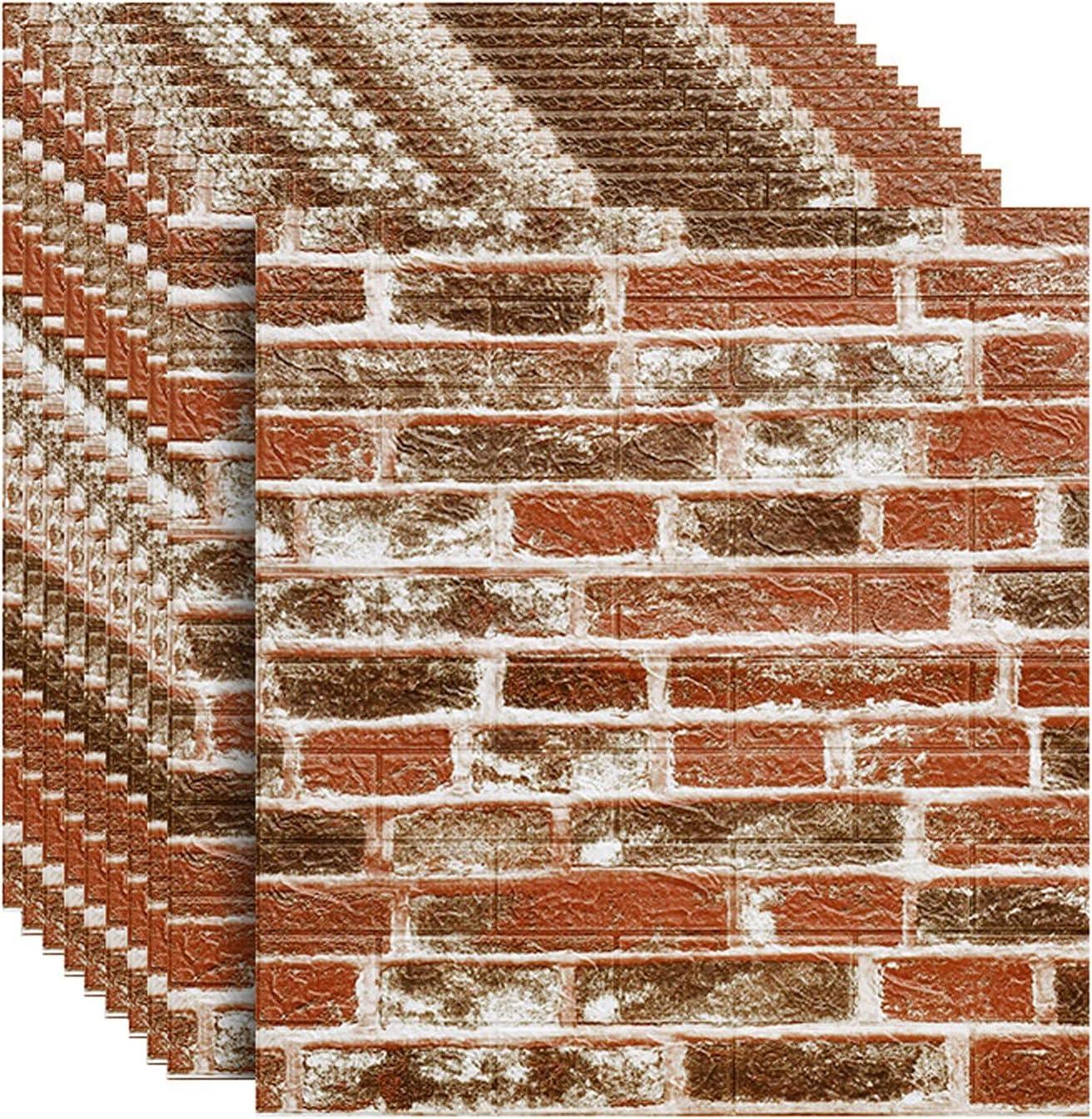 DLMSDG 3D Wallpapers Brick Wall Wallpaper Pane Self-Adhesive Soldering 2021new shipping free shipping