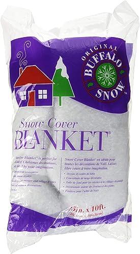 Buffalo Batting CB2351 Snow Cover Blanket 15in.x10ft. 1/Pkg