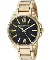 Steve Madden - Steel Mesh Band Watch