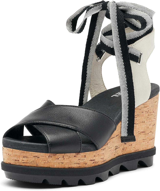 Sorel Women's Joanie II Hi Sandal Memphis Mall Ankle Wedge Lace Ranking TOP2
