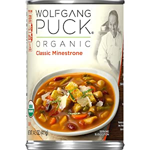 Wolfgang Puck Organic Classic Minestrone Soup, 14.5 oz.