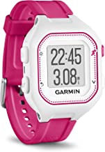 Garmin Forerunner 25, Small - White and Pink (Certified Refurbished)