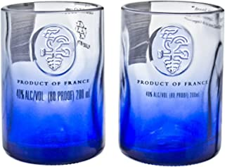 Ciroc Premium Vodka Reclaimed Bottles Glassware Barware Drinkware Shot Glass Gift Set