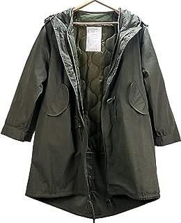 米軍M-51 フィッシュテールパーカ モッズコートオリーブ{ キルティング・ライナー } m51 Parka Coat