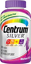Centrum Silver Multivitamin for Women 50 Plus, Multivitamin/Multimineral Supplement with Vitamin D3, B Vitamins, Calcium a...