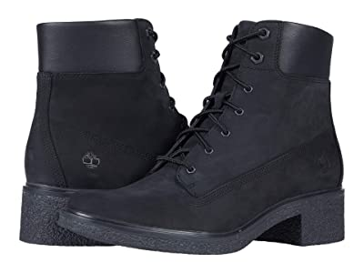 Timberland Brinda Lace-Up Heel (Black) Women