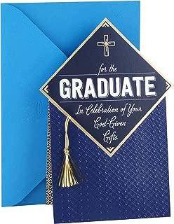 Hallmark Mahogany Religious Graduation Card (Gold Tassel Your God-Given Gifts)