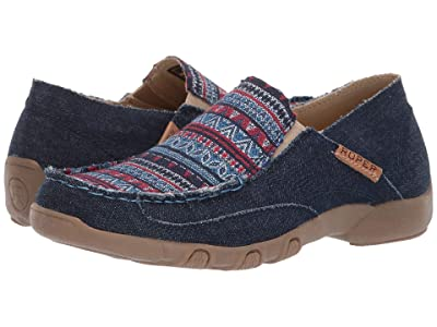Roper Sabra (Blue Canvas) Women