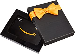 Amazon.co.uk Gift Card for Custom Amount in a Black Box -