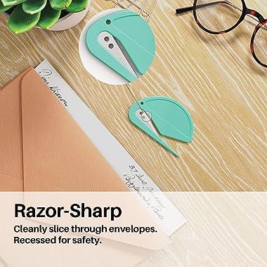 Uncommon Desks Colorful Letter Openers - Trendy Pack (3 Pieces)