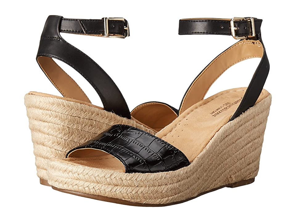 Naturalizer Note (Black Printed Croco/Leather) Women