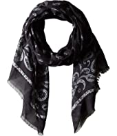 John Varvatos Collection - Printed Feather Scarf V1039U4