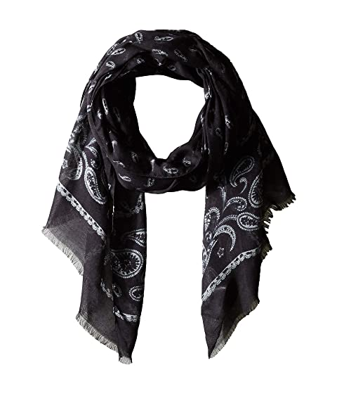 John Varvatos Collection Printed Feather Scarf V1039U4