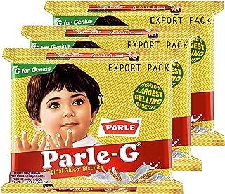Parle Gluco, Orignal Glucose Biscuits, 188 gm, Pack Of 3