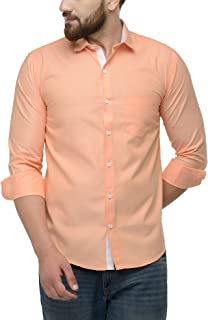JAINISH Men's Cotton Solid Casual Shirt