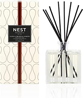 NEST Fragrances Reed Diffuser- Vanilla Orchid & Almond, 5.9 fl oz