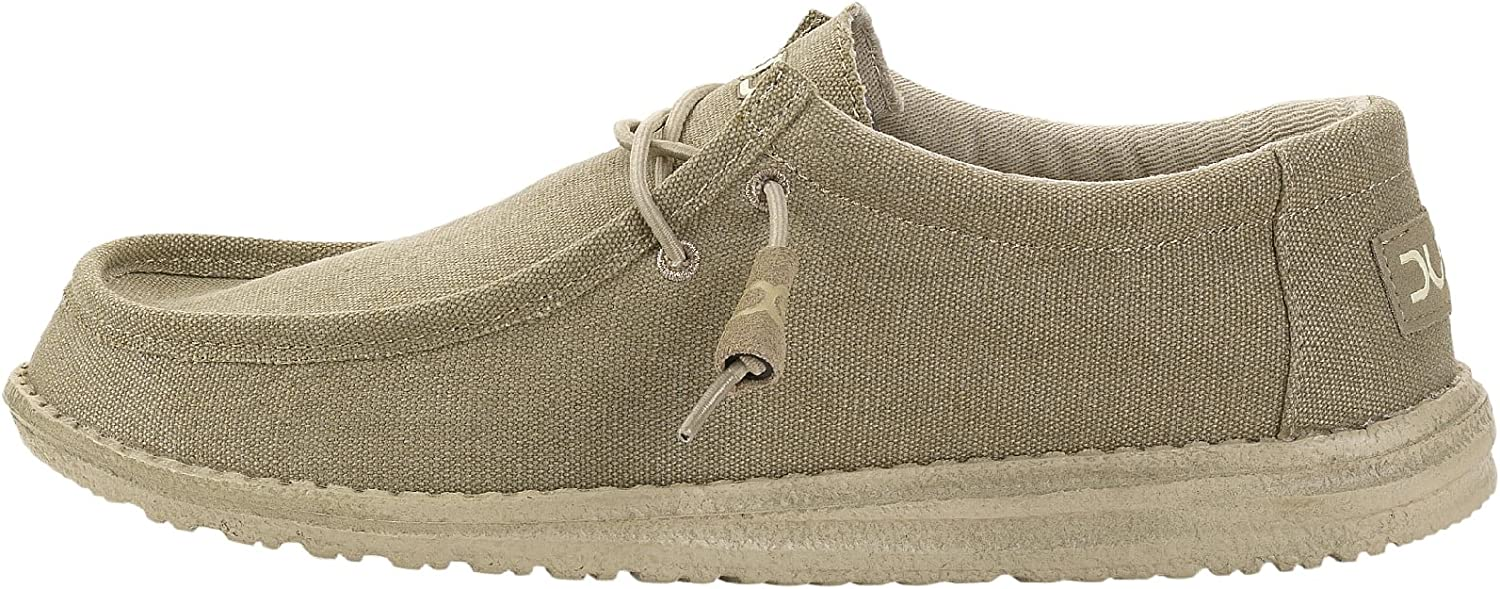 Dude shoes Hey Men's Wally Classic Oat Brown