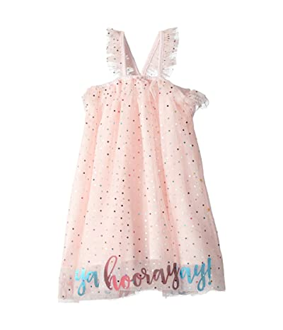 Mud Pie Tulle Sleeveless Party Dress (Infant/Toddler) (Pink) Girl