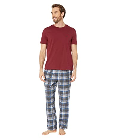 Nautica Pajama Set (Zinfandel) Men