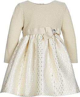 Bonnie Baby Baby Girls Brocade Party Dress