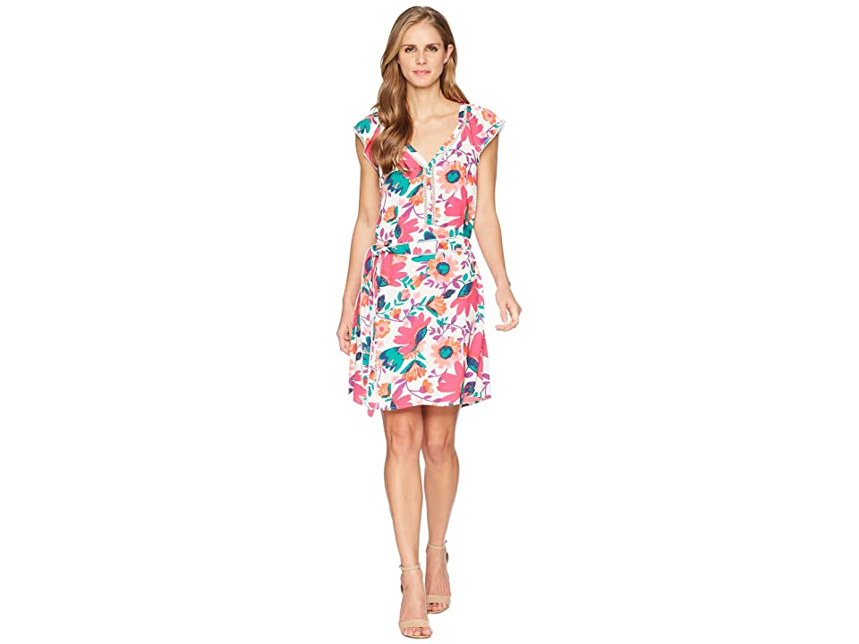 Hatley Carrie Dress (Tortuga Bay Floral) Women