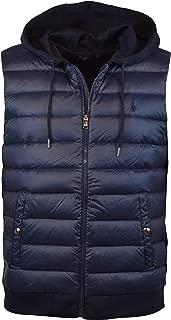 Polo Ralph Lauren Men's 750 Fill Double-Knit Down Paneled Vest Jacket