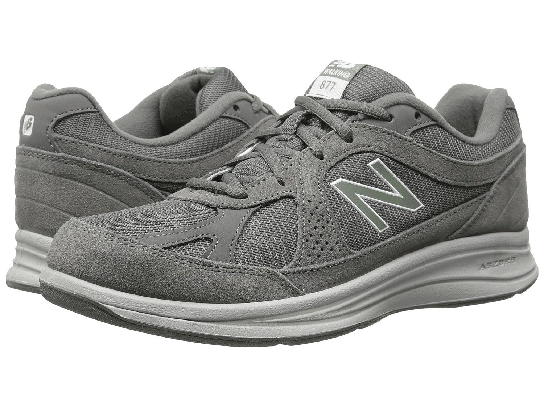 (ニューバランス) New Balance メンズウォーキングシューズ?靴 MW877 Grey 8.5 (26.5cm) 4E - Extra Wide