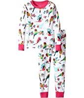 Hatley Kids - Tropical Birds Pajama Set (Toddler/Little Kids/Big Kids)