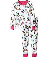 Hatley Kids - Tropical Birds Pajama Set (Toddler/Little Kids/Big Kids)