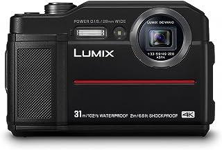 Panasonic Lumix DC-FT7 Cámara compacta 20.4MP 1/2.3 Mos 5184 x 3888Pixeles Negro - Cámara Digital (204 MP 5184 x 3888 Pixeles Mos 46X 4K Ultra HD Negro) [Versión Importada]