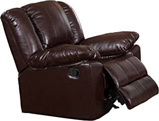 Milton Greens Stars Burgas Rocking Recliner Chair, 39-Inch by 38-Inch by 40-Inch, Dark Brown