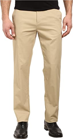 Calvin Klein Refined Stretch Cotton Twill Pant