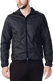 Armani Exchange Mini Logo Print Packable Jacket