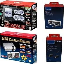 Nintendo SNES and NES Classic Mini Console Bundle