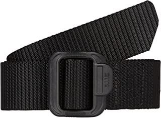 5.11 Tactical Men's 1.5-Inch Convertible TDU Belt, Nylon Webbing, Fade-and Fray-Resistant, Style 59551 Small Black