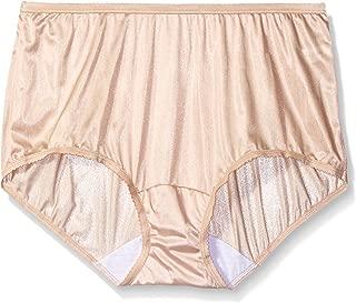 Shadowline Women's Plus Size Panties-Nylon Modern Brief (3 Pack)